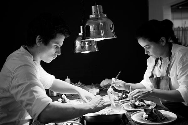 Tabata Et Ludovic Mey Restaurant Les Apothicaires Lyon